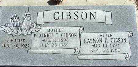 GIBSON, RAYMON HUNTER - Wasatch County, Utah | RAYMON HUNTER GIBSON - Utah Gravestone Photos