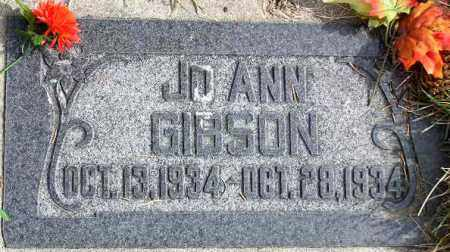 GIBSON, JOANN - Wasatch County, Utah | JOANN GIBSON - Utah Gravestone Photos