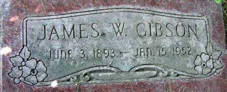 GIBSON, JAMES W. - Wasatch County, Utah   JAMES W. GIBSON - Utah Gravestone Photos