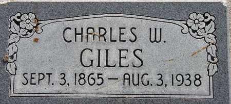 GILES, CHARLES WILLIAM - Wasatch County, Utah | CHARLES WILLIAM GILES - Utah Gravestone Photos
