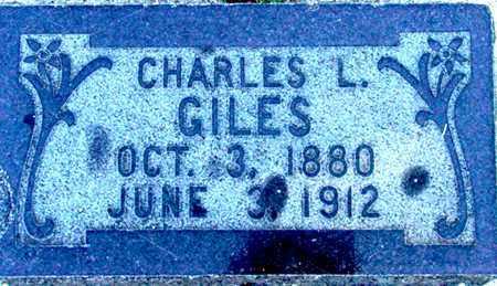GILES, CHARLES LORENZO - Wasatch County, Utah | CHARLES LORENZO GILES - Utah Gravestone Photos
