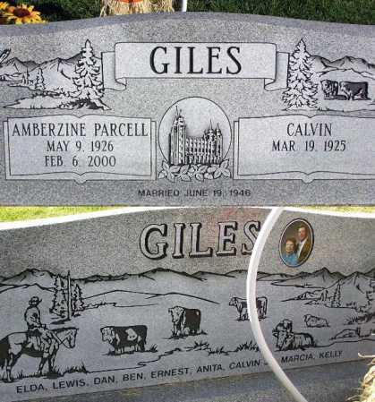 GILES, CALVIN - Wasatch County, Utah | CALVIN GILES - Utah Gravestone Photos