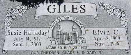 GILES, SUSIE LORETTA - Wasatch County, Utah | SUSIE LORETTA GILES - Utah Gravestone Photos