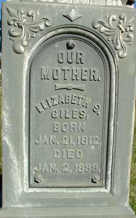 GILES, ELIZABETH SUSANNA - Wasatch County, Utah | ELIZABETH SUSANNA GILES - Utah Gravestone Photos