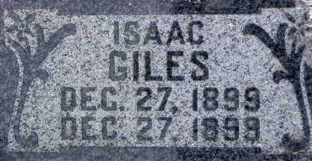 GILES, ISAAC - Wasatch County, Utah   ISAAC GILES - Utah Gravestone Photos