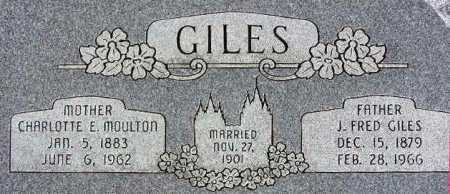 GILES, JOHN FREDRICK - Wasatch County, Utah | JOHN FREDRICK GILES - Utah Gravestone Photos