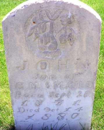 GILES, JOHN - Wasatch County, Utah | JOHN GILES - Utah Gravestone Photos