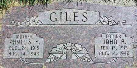 GILES, PHYLLIS MURDOCK - Wasatch County, Utah | PHYLLIS MURDOCK GILES - Utah Gravestone Photos