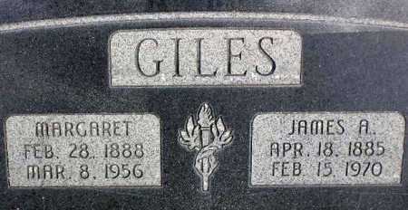 GILES, JAMES ALVIN - Wasatch County, Utah | JAMES ALVIN GILES - Utah Gravestone Photos