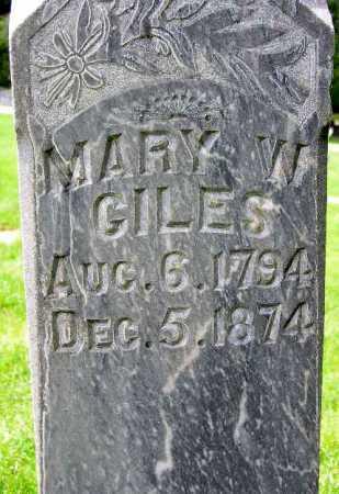 GILES, MARY ANN - Wasatch County, Utah | MARY ANN GILES - Utah Gravestone Photos