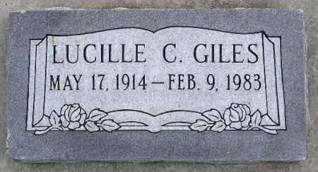 GILES, MARY LUCILLE - Wasatch County, Utah | MARY LUCILLE GILES - Utah Gravestone Photos