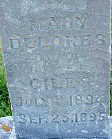 GILES, MARY DELORES - Wasatch County, Utah | MARY DELORES GILES - Utah Gravestone Photos
