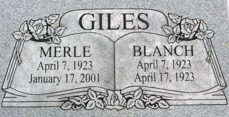 GILES, BLANCH - Wasatch County, Utah   BLANCH GILES - Utah Gravestone Photos