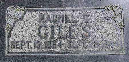 GILES, RACHEL - Wasatch County, Utah | RACHEL GILES - Utah Gravestone Photos