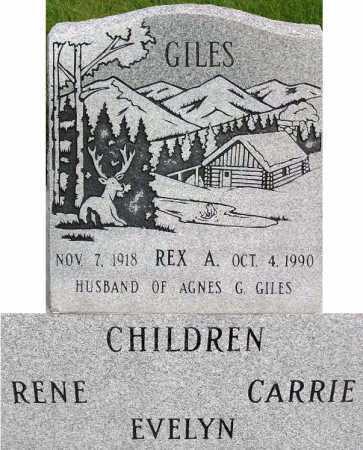 GILES, REX ANGUS - Wasatch County, Utah | REX ANGUS GILES - Utah Gravestone Photos