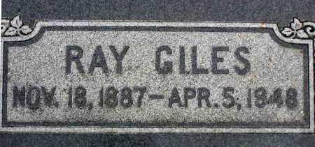 GILES, RAY - Wasatch County, Utah | RAY GILES - Utah Gravestone Photos