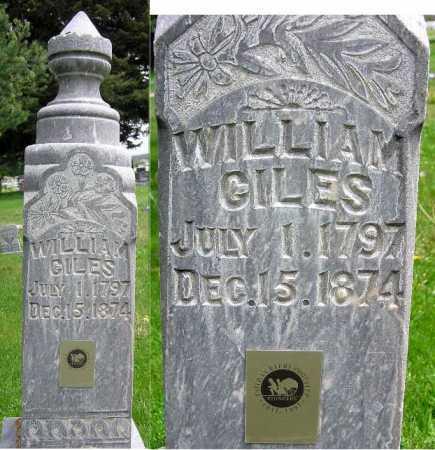 GILES, WILLIAM - Wasatch County, Utah | WILLIAM GILES - Utah Gravestone Photos