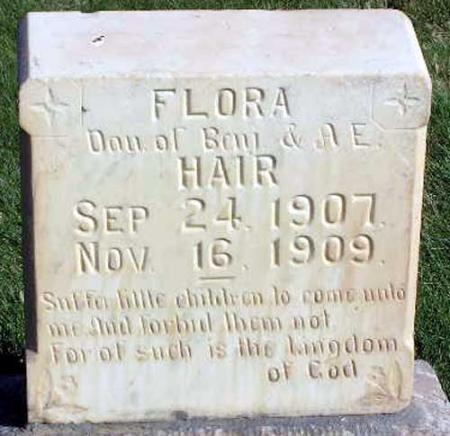HAIR, FLORA PRISCILLA - Wasatch County, Utah | FLORA PRISCILLA HAIR - Utah Gravestone Photos