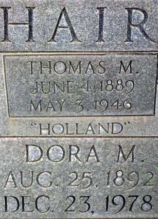 MCDONALD HAIR, DORA - Wasatch County, Utah | DORA MCDONALD HAIR - Utah Gravestone Photos