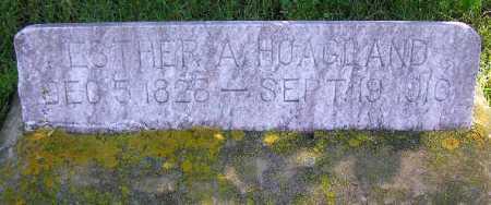 HOAGLAND, ESTHER ANN - Wasatch County, Utah   ESTHER ANN HOAGLAND - Utah Gravestone Photos