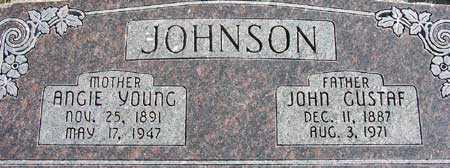 JOHNSON, ANGIE PEARL - Wasatch County, Utah | ANGIE PEARL JOHNSON - Utah Gravestone Photos