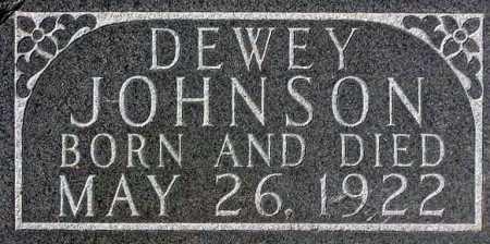 JOHNSON, DEWEY - Wasatch County, Utah | DEWEY JOHNSON - Utah Gravestone Photos