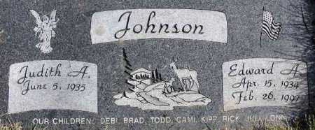 JOHNSON, EDWARD AUGUST - Wasatch County, Utah | EDWARD AUGUST JOHNSON - Utah Gravestone Photos