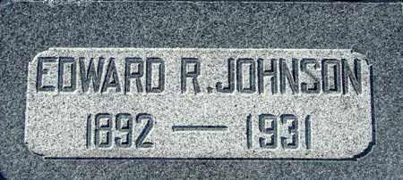 JOHNSON, EDWARD RAYMOND - Wasatch County, Utah   EDWARD RAYMOND JOHNSON - Utah Gravestone Photos