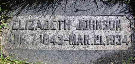 JOHNSON, ELIZABETH (LISA) - Wasatch County, Utah   ELIZABETH (LISA) JOHNSON - Utah Gravestone Photos