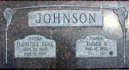 JOHNSON, FLORENCE - Wasatch County, Utah | FLORENCE JOHNSON - Utah Gravestone Photos