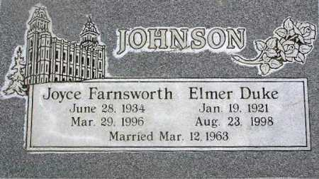 JOHNSON, JOYCE - Wasatch County, Utah | JOYCE JOHNSON - Utah Gravestone Photos