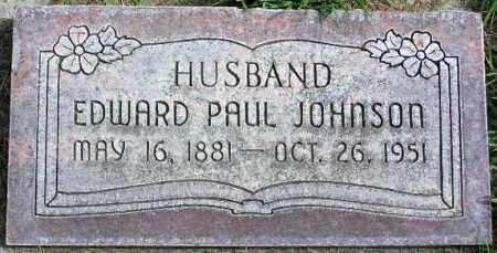 JOHNSON, EDWARD PAUL - Wasatch County, Utah | EDWARD PAUL JOHNSON - Utah Gravestone Photos