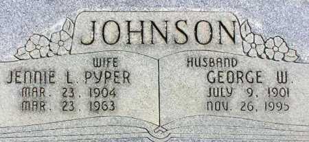 JOHNSON, JENNIE LUELLA - Wasatch County, Utah | JENNIE LUELLA JOHNSON - Utah Gravestone Photos