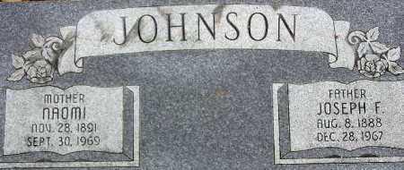 JOHNSON, ANNIE NAOMI - Wasatch County, Utah | ANNIE NAOMI JOHNSON - Utah Gravestone Photos