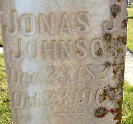 JOHNSON, JONAS J. - Wasatch County, Utah | JONAS J. JOHNSON - Utah Gravestone Photos