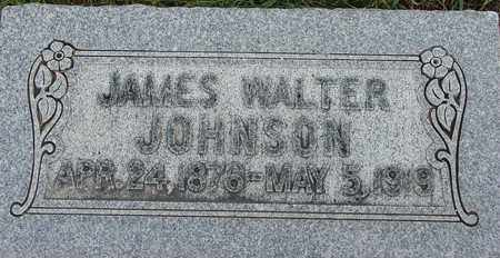JOHNSON, JAMES WALTER - Wasatch County, Utah | JAMES WALTER JOHNSON - Utah Gravestone Photos