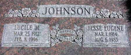JOHNSON, JESSE EUGENE - Wasatch County, Utah | JESSE EUGENE JOHNSON - Utah Gravestone Photos