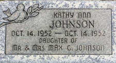 JOHNSON, KATHY ANN - Wasatch County, Utah   KATHY ANN JOHNSON - Utah Gravestone Photos