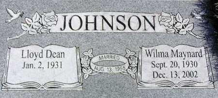 JOHNSON, LLOYD DEAN - Wasatch County, Utah | LLOYD DEAN JOHNSON - Utah Gravestone Photos