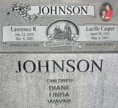 JOHNSON, LUCILLE - Wasatch County, Utah | LUCILLE JOHNSON - Utah Gravestone Photos