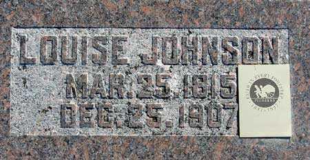 JOHNSON, LOUISE - Wasatch County, Utah | LOUISE JOHNSON - Utah Gravestone Photos