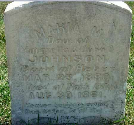 JOHNSON, MARIA M. - Wasatch County, Utah   MARIA M. JOHNSON - Utah Gravestone Photos