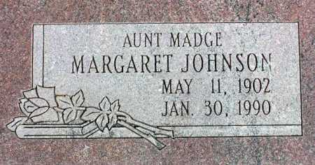 JOHNSON, MARGARET - Wasatch County, Utah   MARGARET JOHNSON - Utah Gravestone Photos