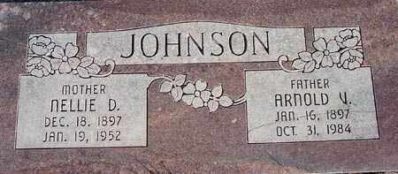 JOHNSON, NELLIE - Wasatch County, Utah | NELLIE JOHNSON - Utah Gravestone Photos