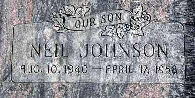 JOHNSON, NEIL - Wasatch County, Utah | NEIL JOHNSON - Utah Gravestone Photos