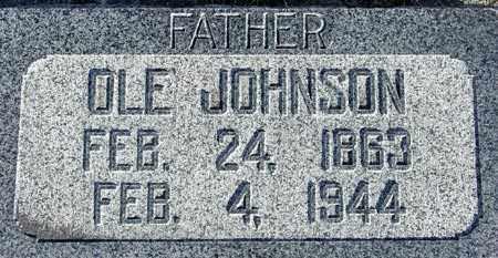 JOHNSON, OLE - Wasatch County, Utah   OLE JOHNSON - Utah Gravestone Photos