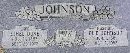 "JOHNSON, OLOF ""OLIE"" - Wasatch County, Utah | OLOF ""OLIE"" JOHNSON - Utah Gravestone Photos"