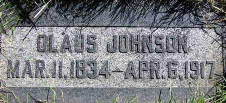 JOHNSON, OLAUS - Wasatch County, Utah   OLAUS JOHNSON - Utah Gravestone Photos