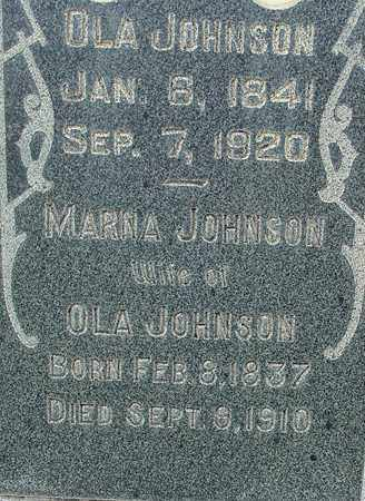 JOHNSON, OLA - Wasatch County, Utah | OLA JOHNSON - Utah Gravestone Photos