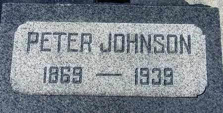 JOHNSON, PETER - Wasatch County, Utah | PETER JOHNSON - Utah Gravestone Photos